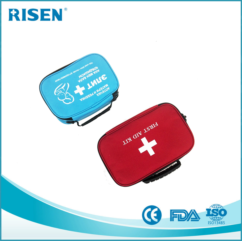 China New Design Popular Plastic Travel Basic First Aid Kit
