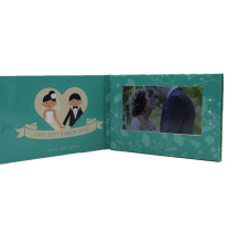 cool promotional product wedding invitation video card