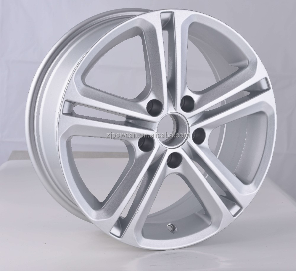 replica wheel rim china for wv wheels golf fit for 19inch car wheels 5/112 with sport POWCAN and Baokang produce