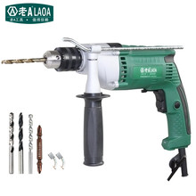 LAOA 810W portable electric drill,electric impact drill price good,hammer power