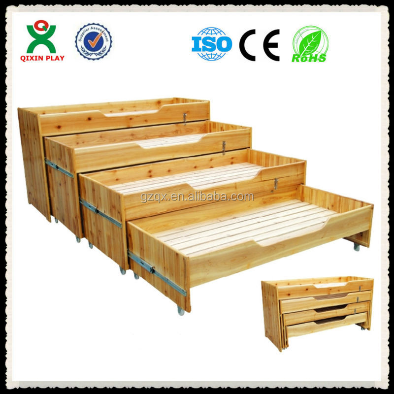 Four Layer Wooden Kids bed,toddler bedroom furniture,toddler beds QX-196F