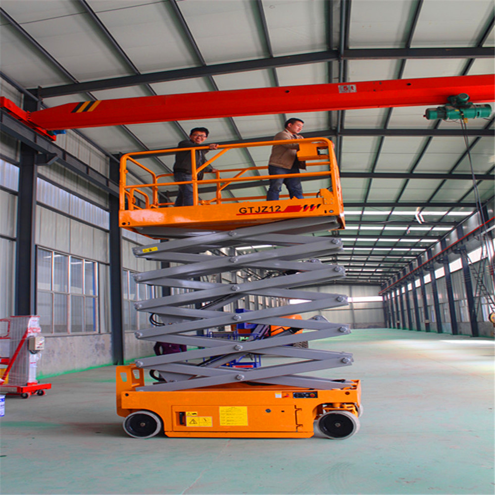 Chinese low aerial platform price of Scissor lift platform