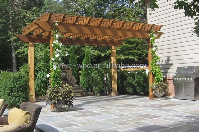 asiatique composite bois hexagonale pergola en plastique bois pergola pas cher pergola arches. Black Bedroom Furniture Sets. Home Design Ideas