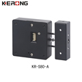 Pin connector electronic rfid card drawer lock