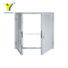 Adjustable aluminum louvered windows with Australian standard manufacturer in China