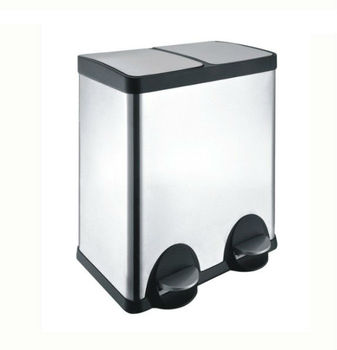 40L Double Bucket Dustbin