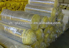 FSK Glass wool blanket with Aluminium foil thermal building materials