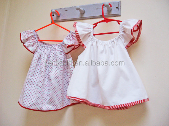 Baby clothes fashion organic baby cotton white top kids clothing