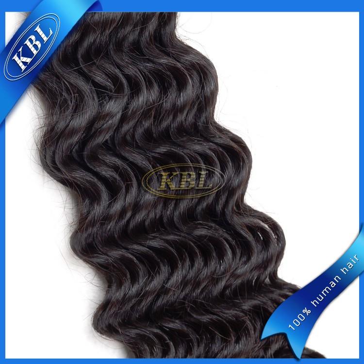 KBL virgem kinky curly malaio do cabelo, não transformados malaio virgem extensões de cabelo natural
