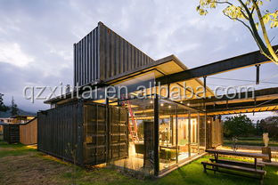 Prefabricated container house from top to bottom two layers of high quality low price