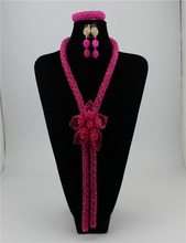 Beautifical new arrival african jewelry sets wholesale african fashion jewelry sets gold jewelry sets XGS57
