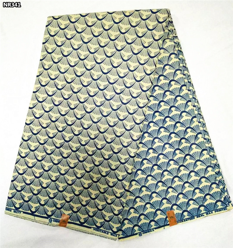 African prints fabric veritable real wax fabric wax block prints fabric 100% Cotton NR341