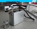 50W handheld fiber laser marking machine for logo engraving