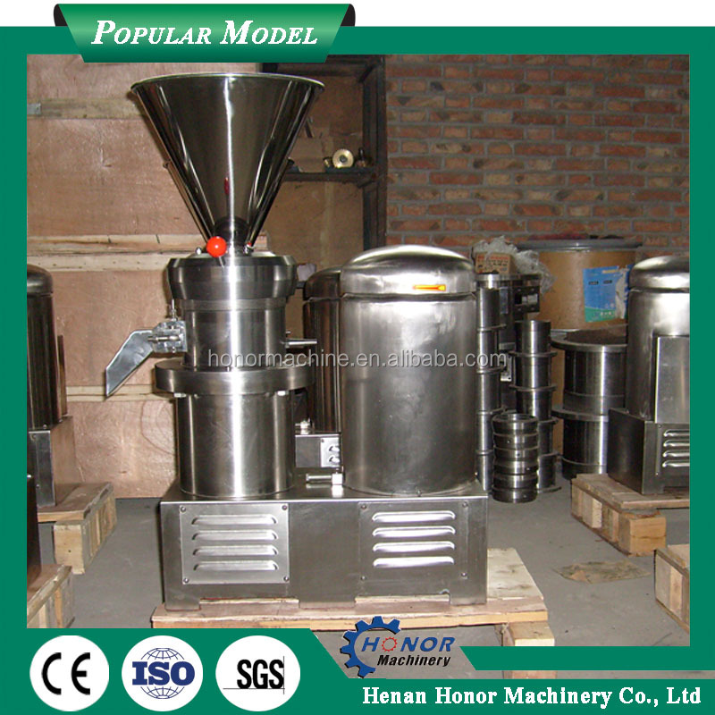 Soya Bean Milk Nut Butter Making Machine With 10L Hopper