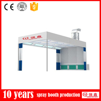 CE Approved Customized Accepted Prep Station Polish Booth