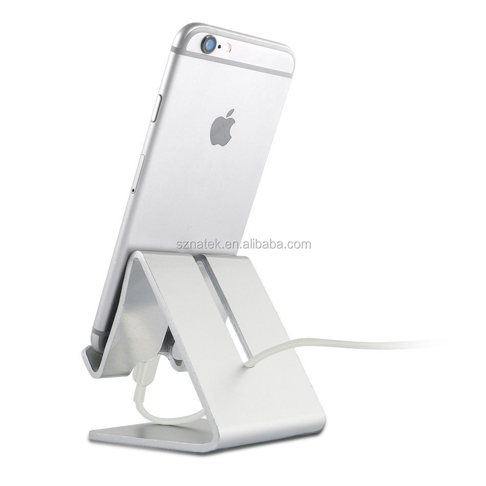 Adjustable Aluminum Cell Phone Holder 270 Degree Rotating Multi Viewing Angle Mobile Phone Stand for i phone ipad smartphone