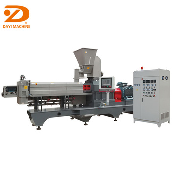 Dayi Chocolate filled core filling puff snacks chips production machine line