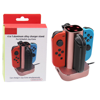 Honson New 4 in 1 Joy-con Controller Charging Holder  For Nintendo Switch