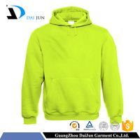 Daijun oem no name china factory 100%cotton 280g fleece wholesale unisex blank colorful neon hoodies