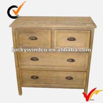 antique retro table top drawers wood cabinet