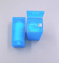 Box holder with blade personalized brand 200yards axis nylon 840D oral hygiene floss yarn prices
