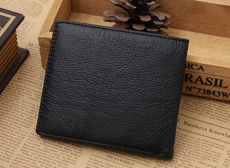 leather rfid blocking wallet oem