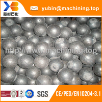 Hot roll forged steel grinding ball 60mm 40mm 30mm