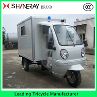 Ambulance 3 Wheel Tricycle with Roof for Sale 150cc200cc250ccOEM