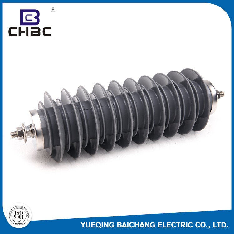 CHBC 33KV 10KA Composite Polymer Lightning Arrestor With Wholesale Price