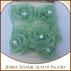 Organza Ribbon Flower Nylon Lace Cotton
