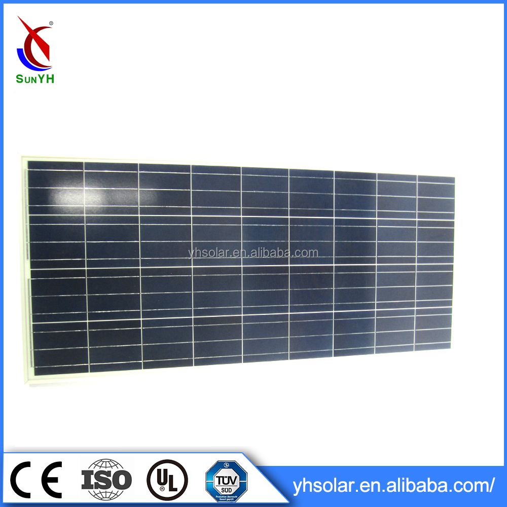 6 Inches Cell Type Poly Solar Panel 9.5kg Module Panel 120w