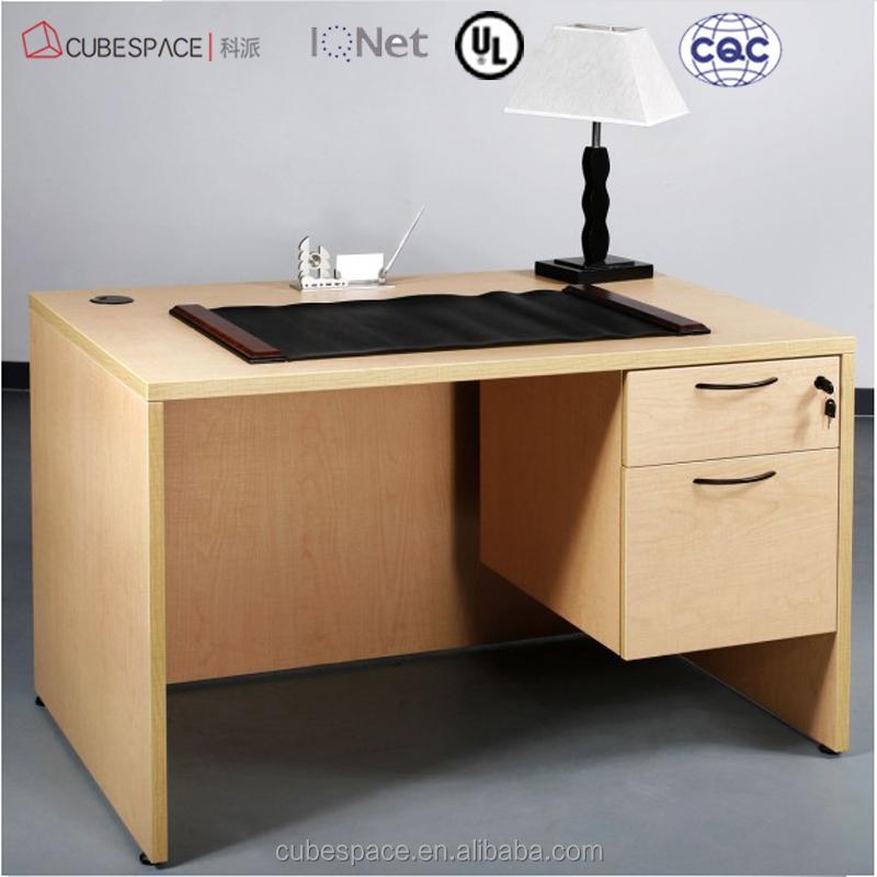 Moderno escritorio de oficina est ndar dimensiones for Dimensiones mesa escritorio