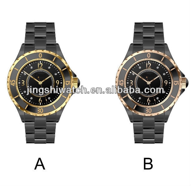 JC024 top quality exclusive designs ceramic with hematite anticlockwise new products