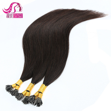 Factory Price 100 Indian Human Blonde 10-30 Inch Pre Bonded silky Straight Indian Remi Hair 2g Strands I Tp Hair Extensions