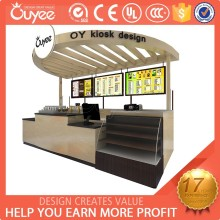 2015 Latest design high quality mdf outdoor retail kiosk for sale