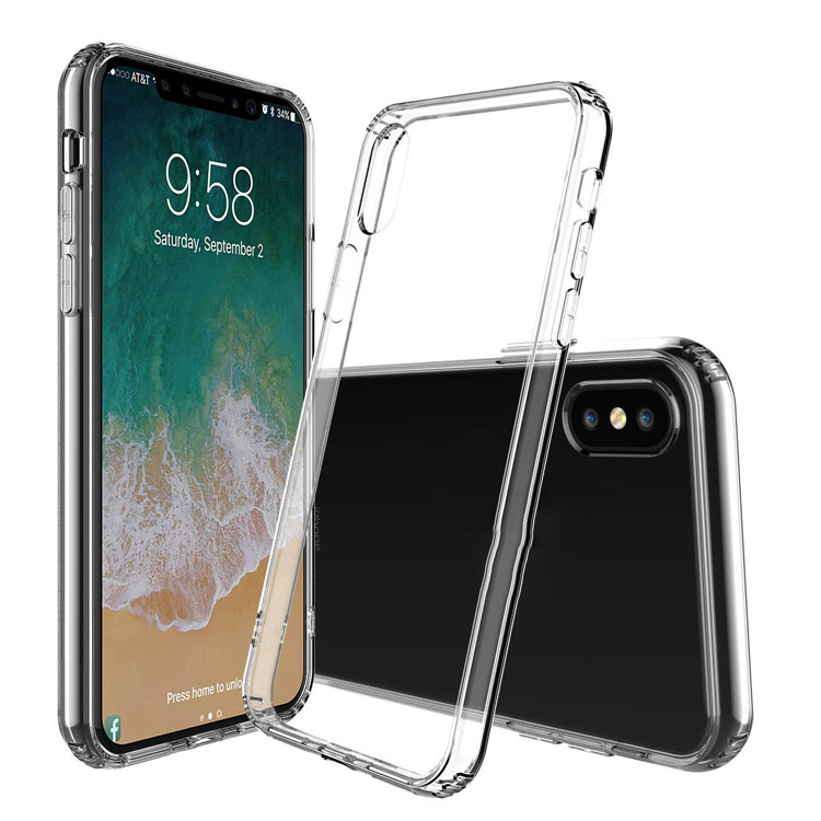 Shockproof Acrylic TPU PC Phone Case for iPhone Xs XR XS <strong>MAX</strong>