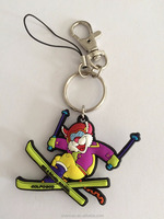 custom promotional 2D 3D soft PVC keychain