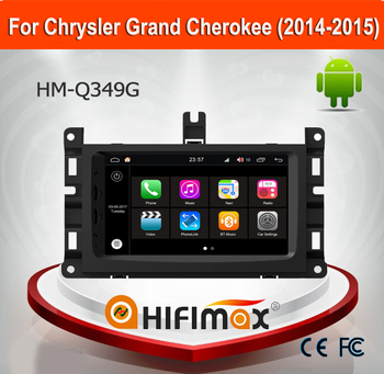 Hifimax Andriod 7.1 Auto Parts For Jeep Grand Cherokee2014-2015 Car Multimedia Player With GPS CANBUS Quad Core 2G RAM 16G FLASH