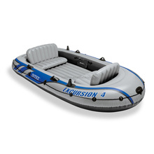 INTEX 68324 High Quality Excursion 4 Persons Inflatable Boat for Water Games
