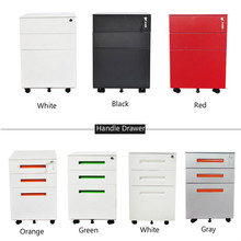 Office Steel Movable Drawers File Cabinet