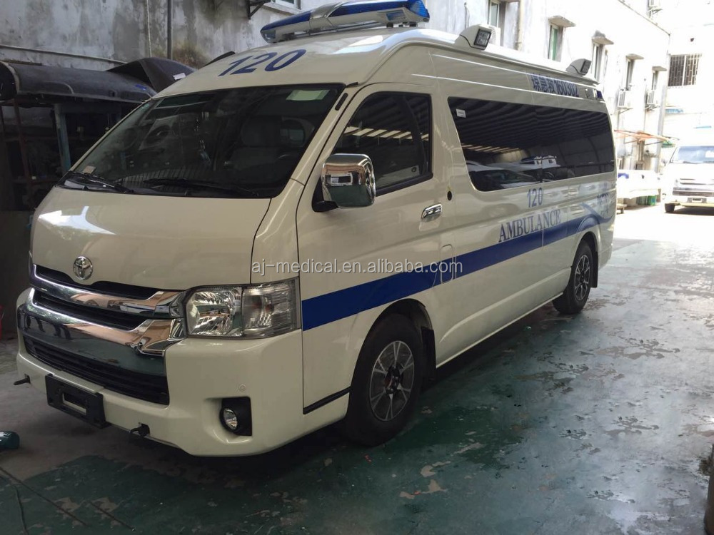 Toyota Hiace High Roof 2.7L Gasoline Ambulance