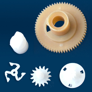 MMS high quality injection printer plastic gear Custom gears