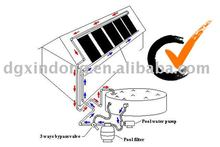 plastic solar pool heater collectors,NBR,PVC Absorber,pool heating kit,maufacturer