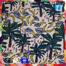 Quality guarantee tropical digital print fabric textile printing cotton material