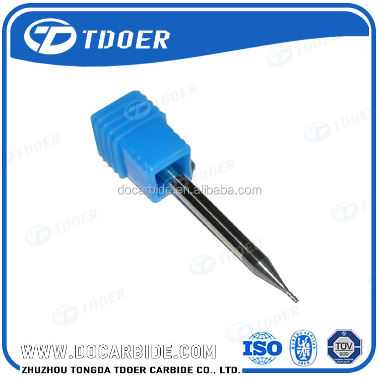 carbide cnc cutting tool end mill