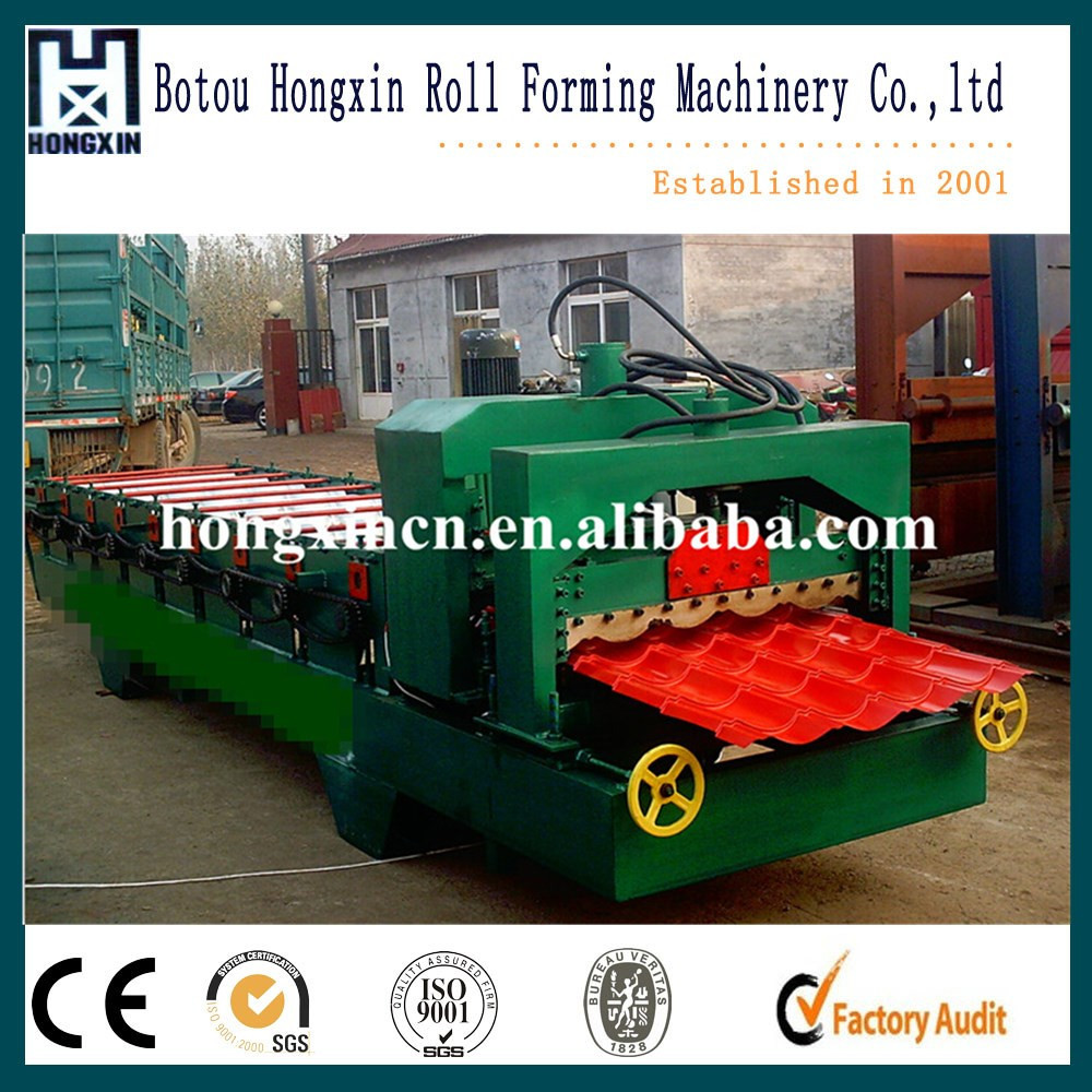 Glazed Metal Roofing Profile Roller Forming Machine, Roll Shaper Machine