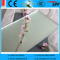 1.3-6mm Sand Blasting Mirror and Glass