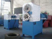 Waste Tyre Strip Cutter / Hydraulic Tyre Cutting Machine