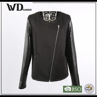 New products 2015 innovative product, motorcycle leather bomber jacket