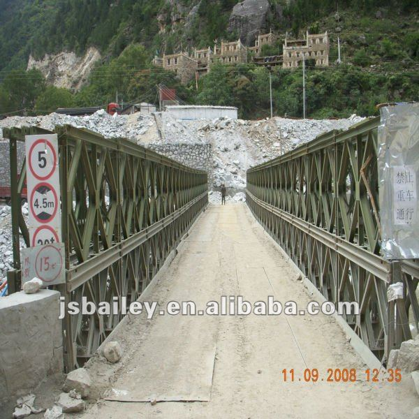 portable steel bridge/MILITARY BRIDGE